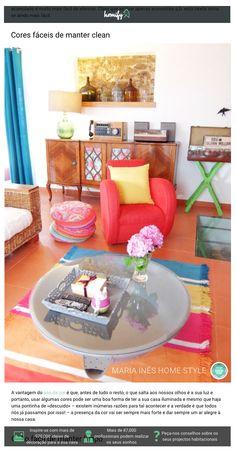 Homify Portugal | Março de 2016 Desta vez, o tema foi a utilização da cor. Parece que é uma boa forma de ter a casa iluminada e alegre!