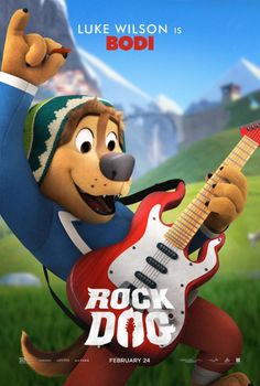 Rock Dog Movie Poster (#10 of 14) - IMP Awards