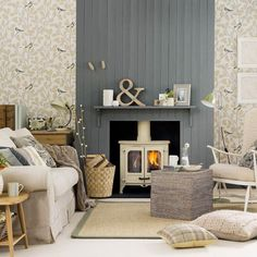 Fall for these warming Autumnal schemes. Ideal Home brings you its best ever cosy living room schemes. Find more decorating inspiration at housetohome.co.uk