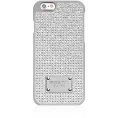 Michael Michael Kors Pave iPhone 6/6s Case (930 MXN) ❤ liked on Polyvore featuring accessories, tech accessories, phone cases, crystal and michael michael kors