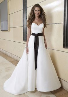 White and Black wedding dress | Weddings | Pinterest | Wedding ...
