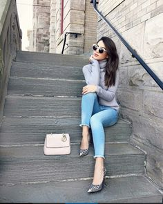 Choose your outfit to feel confident and look absolutely stylish. Fashion Beauty, Girl Fashion, Fashion Outfits, Womens Fashion, Fall Winter Outfits, Autumn Winter Fashion, Casual Outfits, Cute Outfits, Image Fashion