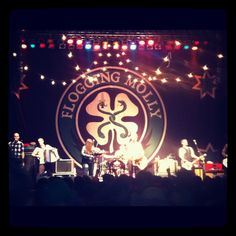 Flogging Molly! I love this band! I've seen them maybe 5 times and I'd go again!