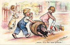 "Germaine Bouret ""Mais...il a bu, ma parole !..."""