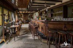 Cafe ons Moe Belgium Abandoned Pub Bar Room