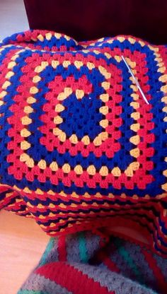 see never ending granny square by mikey