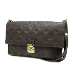Louis Vuitton Fascinante Monogram Empreinte Shoulder bags Brown Leather M94224
