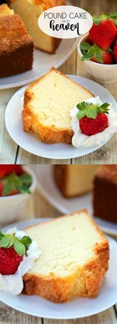 Pound Cake from Heaven - almond, cake, dessert, milk, recipes, vanilla