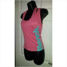 Designer BENCH Ladies Stunning Double Effect Vest Casual T-Shirt Top