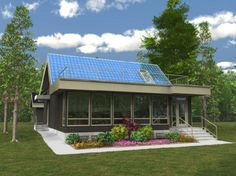 Net-Zero Energy Houses on the Rise in Edmonton Passive Solar Homes, Passive House, Prefab Homes Canada, Plan Canada, Green Home Decor, Energy Efficient Homes, Solar House, Green Architecture, Construction