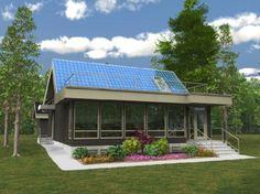 Net-Zero Energy House, Belgravia, Edmonton, Canada