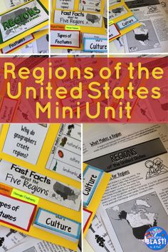 United states geography regions state research project unit grade an introduction to the five regions of the united states why we have regions publicscrutiny Choice Image