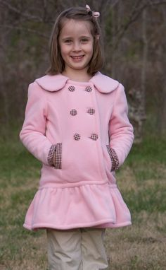 Pink Princess Coat