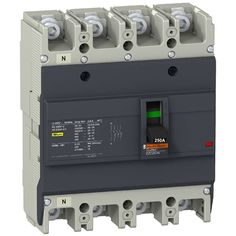 84.00$  Watch here - EZC250N44250  Circuit Breaker Easypact EZC250N 4P 250A 25KA 400/415V  #buychinaproducts