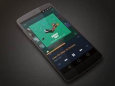 Android Music App by Naveen Nagar