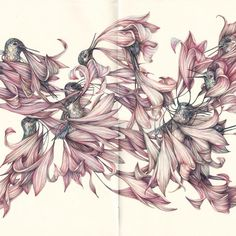 Coloured pencil drawing by Marco Mazzoni