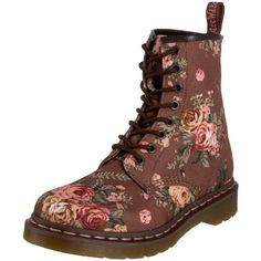 afa5ea8003866 Dr. Martens Women s 1460 Re-Invented Victorian Print Lace Up Boot