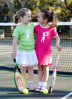 Tennis Pro Nostalgic Graphic Tee Ringer Dress by elizabethhorton, $29.00. Shirt also available for $20.00.