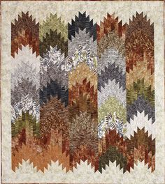 - Woodland Peaks & Valleys Quilt Kit