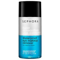 This works so well! My mascara, liner, and shadow wash away with ease and it never irritates my sensitive eyes. #Sephora #SephoraItLists —Johnna M., Mobile & Digital Store Marketing Director