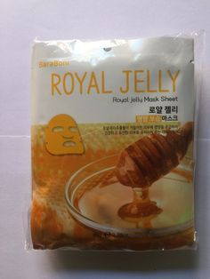 BARABONI Original Royal Jelly Facial Mask Sheet Pack 1PCS Nutrition K-Beauty #BARABONI