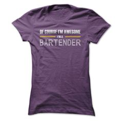 Awesome Bartenders T Shirts, Hoodies. Check price ==► https://www.sunfrog.com/LifeStyle/Awesome-Bartenders-ladies.html?41382