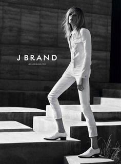 Daria Strokous stars in J.Brand Spring/Summer 2015 Campaign.