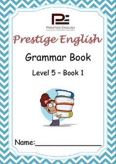 English Grammar Book  Level 5  Book 1This is the 13th book in the 15 book series of the Prestige English Grammar Series.Recommended for advanced beginners and students who already have a good grasp of English grammar.Please also download the 26 page FREE SAMPLE file of this booklet to preview its content and assess it suitability to your students level.Book Content:1.