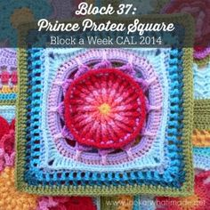 Prince Protea Square Photo Tutorial and Pattern