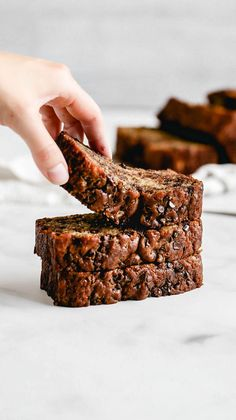 This is hands down the BEST EVER chocolate chip banana bread. It\'s incredibly moist, full of banana flavor, and loaded with chocolate chips. This is the only banana bread recipe you\'ll ever need! #bananabread #bananabreadrecipe #chocolatechipbananabread #bananarecipes #butternutbakery