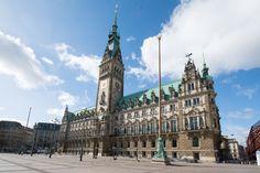 Hamburg Rathaus Handelskammer Barcelona Cathedral, Big Ben, Building, Travel, Hamburg, Viajes, Buildings, Destinations