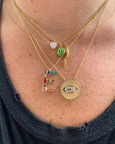Double Dose Charm Necklace in Kelly Green Cute Jewelry, Gold Jewelry, Jewelry Box, Jewelry Accessories, Fashion Accessories, Jewelry Design, Fashion Jewelry, Women Jewelry, Jewlery