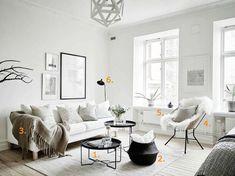 Shop the look: Scandinavische zithoek - Roomed