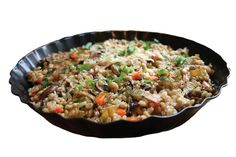 Try this hearty groat pilaf recipe for a savory lunch or dinner dish.