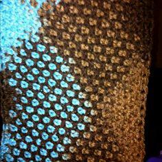 Tunisian Crochet | Honeycomb Tunisian Crochet!!