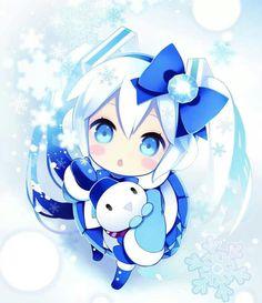 Cute snow miku