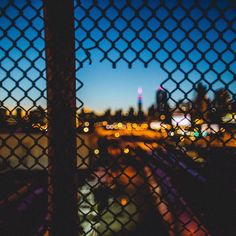 Through the fence. Our beautiful  city captured by @insighting #nyc #kcpov