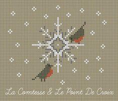 La Comtesse & Le Point De Croix: Tra ghiaccio e pettirossi: il mio regalo di Avvento
