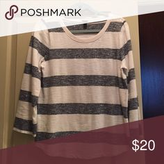 J Crew crew neck sweater Not thick at all. Great for cool days and evenings. Super soft J. Crew Sweaters Crew & Scoop Necks