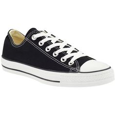 Converse Chuck Taylor All-Star Core Ox ❤ liked on Polyvore featuring shoes, sneakers, converse, 18. converse., sapatos, black, cap toe shoes, kohl shoes, converse trainers and lacing sneakers