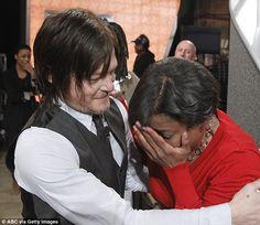 Walking Dead's Norman Reedus talks about his recent hospital visit ...