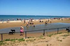 Dog Beach at Montrose Beach, Chicago