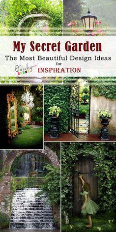 My Secret Garden | The Most Beautiful Design Ideas for Inspiration