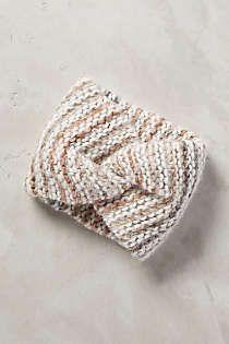 Anthropologie - Mesmerize Knit Earband