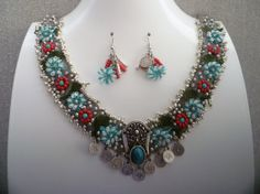 Authentic Coin Necklace Set by KamuranDesigns on Etsy, $55.00