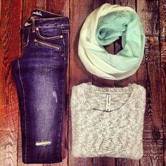 Sweater scarf - Aeropostal