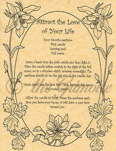Details about Attract the Love of Your Life, Book of Shadows Spell Page, Wicca, Witchcraft Livre du livre des ombres. Livre Wiccan des Ombres Pages. Witchcraft Love Spells, Wiccan Books, Healing Spells, Wiccan Witch, Gypsy Spells, Wicca Love Spell, Real Love Spells, Witch Spell, Love Spell Chant
