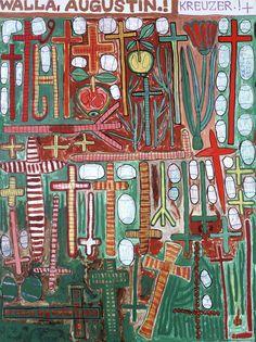August Walla, visionary artist