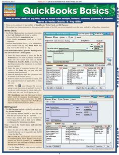 Quickbooks Basics Download this review guide and improve your grades. #education…