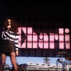 Charli xcx. Life is beautiful festival.